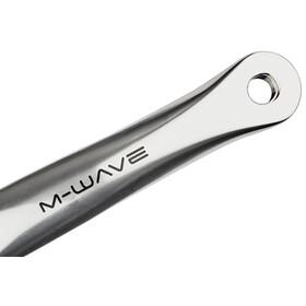 M-ighty Single Speed - Bielas - 44 dientes aluminio pulido negro/Plateado